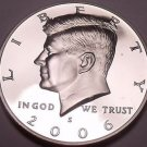 United States 2006-S Proof John F. Kennedy Half Dollar~Free Shipping
