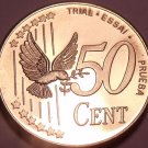Rare Sweden 2003 50 Euro Cents~Essai Trial Preuba Pattern Proof~17,000 Minted~FS