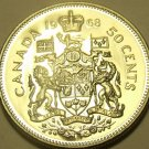 PROOF CANADA 1968 50 CENTS~WE HAVE PROOFS~FREE SHIPPING~