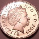 Rare Proof Great Britain 2005 5 Pence~Only 50,000 Minted~Excellent~Free Ship