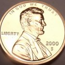 United States Proof 2000-S Lincoln Memorial Cent~Free Shipping~We Have Proofs~