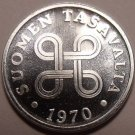FINLAND UNCIRCULATED 1970 1 PENNI~GREAT PRICE~FREE SHIP