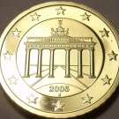 Cameo Proof Germany 2005-J Ten Euro Cents~Hamburg Mint~Excellent~Free Shipping~