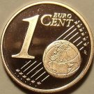 Cameo Proof Germany 2005-J One Euro Cent~Hamburg Mint~Excellent~Free Shipping~