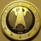Cameo Proof Germany 2005-J 2  Euros~Hamburg Mint~Excellent~Bi-Metal~Free Ship~