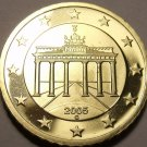 Cameo Proof Germany 2005-G Ten Euro Cents~Karlsruhe Mint~Excellent~Free Ship~