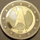 Cameo Proof Germany 2005-G One Euro~Karlsruhe Mint~Excellent~Bi-Metal~Free Ship~