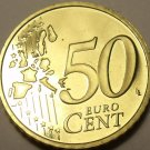 Cameo Proof Germany 2005-G 50 Euro Cents~Karlsruhe Mint~Excellent~Free Shipping~