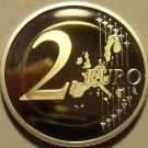 Cameo Proof Germany 2005-G 2  Euros~Karlsruhe Mint~Excellent~Bi-Metal~Free Ship~