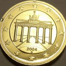 Cameo Proof Germany 2004-D Ten Euro Cents~Munich Mint~Cameo~Free Shipping~