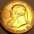 Massive 1974 Gem Unc A-R-B Medallion~John Adams~First Continental Congress~Fr/Sh