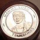 Gem Unc Roll (40 Coins) Sierra Leone 1996 10 Leones~Mammy Yoko~Free Shipping~