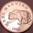 Rare Proof Croatia 1993 5 Kuna~Brown Bear~Only 17,000 Minted~Free Shipping