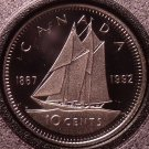 Cameo Proof Canada 1992 10 Cents~We Have Canadian Proof Coins~Free Shipping