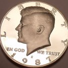 United States Proof 1987-S Kennedy Half Dollar~See R Proof Kennedys~Free Ship