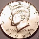 BRILLIANT UNC 1995-P KENNEDY HALF DOLLAR~FREE SHIPPING~