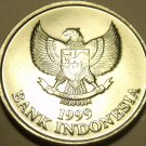 Gem Unc Indonesia 1999 100 Rupiah~Spread Eagle~Palm Cockatoo~Free Shipping