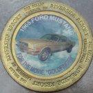 LARGE RIVERSIDE RESORT $1 GAMING TOKEN~1965 FORD MUSTANG~GOLDFINGER~FREE SHIP~