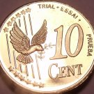 Rare Sweden 2003 10 Euro Cents~Essai Trial Preuba Pattern Proof~17,000 Minted~FS