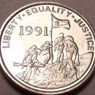 Gem Unc Eritrea 1997 1 Cent~Military Flag~Gazelle~See Our Gem Unc Coins~Free Shi