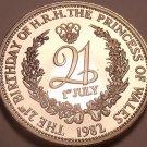 Massive Proof Prince William 21st Birthday Medallion~Free Shipping