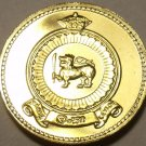 Gem Cameo Proof Ceylon 1971 50 Cents~Only 20,000 Minted~Last Year Ever~Free Ship