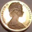 Cameo Proof Australia 1980 Cent~Feathered Tailed Glider~Free Shipping~