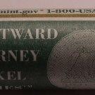 Gem Unc Mint Wrapped Roll 2004-D Keelboat Nickels~Westward Journey~Free Ship