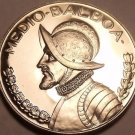 HUGE PROOF PANAMA 1974 HALF BALBOA~FREE SHIPPING~WOW~