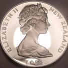Rare Gem Cameo Proof New Zealand 1984 5 Cents~15,000 Minted~Tuatara~Free Ship~