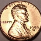 United States 1954-S Unc Lincoln Wheat Cent~Free Shipping