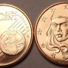 BRILLIANT UNC FRANCE 1999 5 EURO-CENTS~~FREE SHIPPING~~