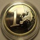 RARE IRELAND 2007 ENCAPSULATED CAMEO PROOF EURO~ONLY 5K MINTED~BI-METAL~FREE SHI