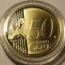 RARE IRELAND 2007 ENCAPSULATED CAMEO PROOF 50 EURO CENTS~5K MINTED~FREE SHIPPING