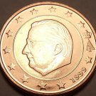 GEM UNC BELGUIM 1999 5 EURO CENTS~ALBERT II~FREE SHIP~