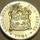 PROOF SOUTH AFRICA 1981 10 CENTS~ALOE PLANT~TEN THOUSAND MINTED~FREE SHIPPING~