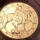 Gem Unc Roll (25 Coins) Of Large Bulgaria 1992 5 Leva~Madara Horseman~Free Ship
