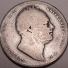 Huge Rare Silver Great Britain 1836 Half Crown~Very Scarce Coin~Free Shipping