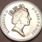 Cameo Proof Great Britain 1987 10 New Pence~Lion~Only 89,000 Minted~Free Ship