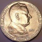 Huge Gem Unc Silver Czechoslovakia 1951 100 Kronun~Party Chairman~Free Shipping