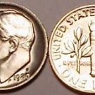 1980-P BRILLIANT UNC ROOSEVELT DIME~FREE SHIP INCLUDED~