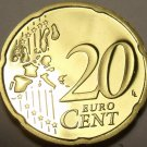 Cameo Proof Germany 2003-G 20 Euro Cents~Karlsruhe Mint~Cameo~Free Shipping~