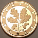 Cameo Proof Germany 2003-G 2 Euro Cents~Karlsruhe Mint~Cameo~Free Shipping~