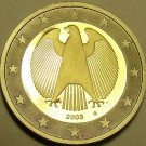 Cameo Proof Germany 2003-G 1 Euro~Karlsruhe Mint~Cameo~Bi-Metal~Free Shipping~