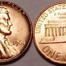 1961-P BRILLIANT UNCIRCULATED LINCOLN CENT~~FREE SHIP~~