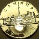 Gem Cameo Silver Proof Canada 1984 Toronto Sesquicentennial Dollar~Free Ship
