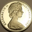 CAMEO PROOF AUSTRALIA 1983 5 CENTS~SHORT-BEAKED SPINEY ANT-EATER~FREE SHIPPING~