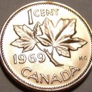 Gem Unc Canada 1969 Cent~Queen Elizabeth II~Maple Leaf~Free Shipping~