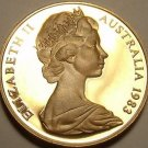 CAMEO PROOF AUSTRALIA 1983 CENT~RINGED TAILED OPOSSUM~FREE SHIPPING~
