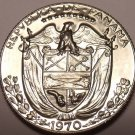 Rare Proof Panama 1970 1/4 Balboa~Only 9,528 Minted~Free Shipping